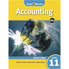 Study & Master Accounting Learner Book Grade 11