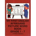 My First English Afrikaans Picture Word Book