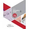 ABC of Mathematics Grade 10 Teacher's Guide Book B