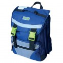 Eco Earth 3 Division School Back Pack Blue