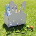 Easter Bunny Pull Cart on Wheels