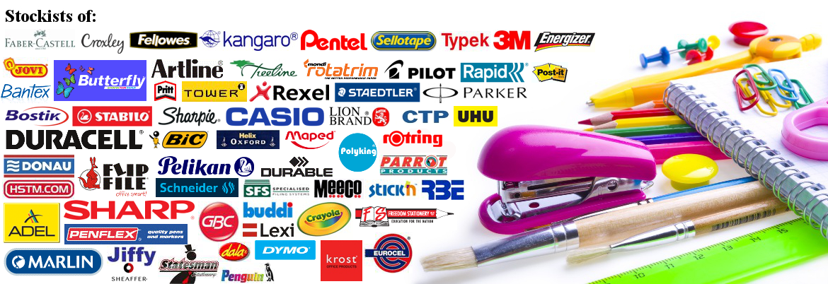 Click here for all your stationery requirements from home to office to school and more.